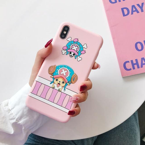 Coque pour iPhone One Piece Tony-Tony Chopper