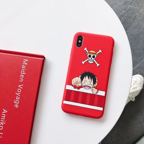 Coque pour iPhone One Piece Monkey D. Luffy