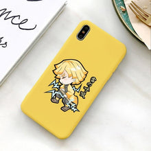 Charger l'image dans la galerie, Coque pour iPhone Demon Slayer Kimetsu no Yaiba Zenitsu Agatsuma Recharge