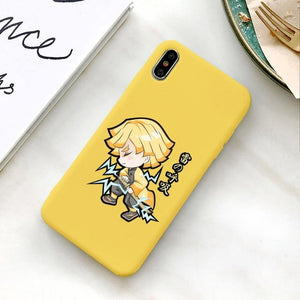 Coque pour iPhone Demon Slayer Kimetsu no Yaiba Zenitsu Agatsuma Recharge