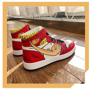 Sneakers | Monkey D. Luffy (One Piece) - HappyLife Otaku