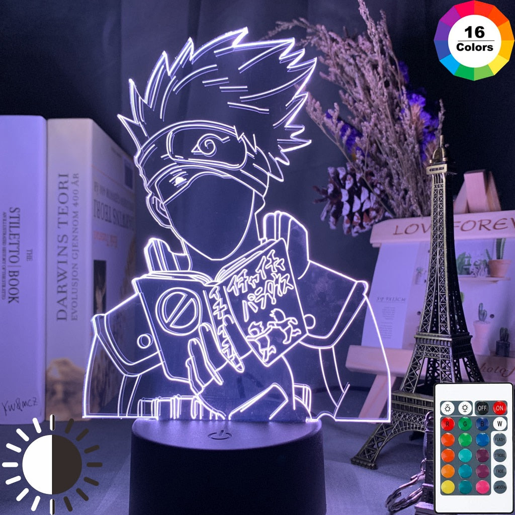LED Night Lamp | Kakashi Hatake Icha Icha Paradise