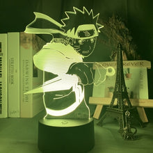Charger l'image dans la galerie, LED Night Lamp | Naruto Uzumaki Fighting