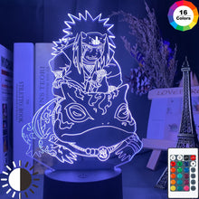 Charger l'image dans la galerie, LED Night Lamp | Jiraiya
