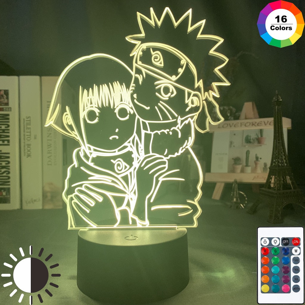 LED Night Lamp | Naruto & Hinata