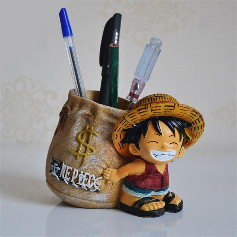 porte-stylo One Piece monkey d. luffy sac banque