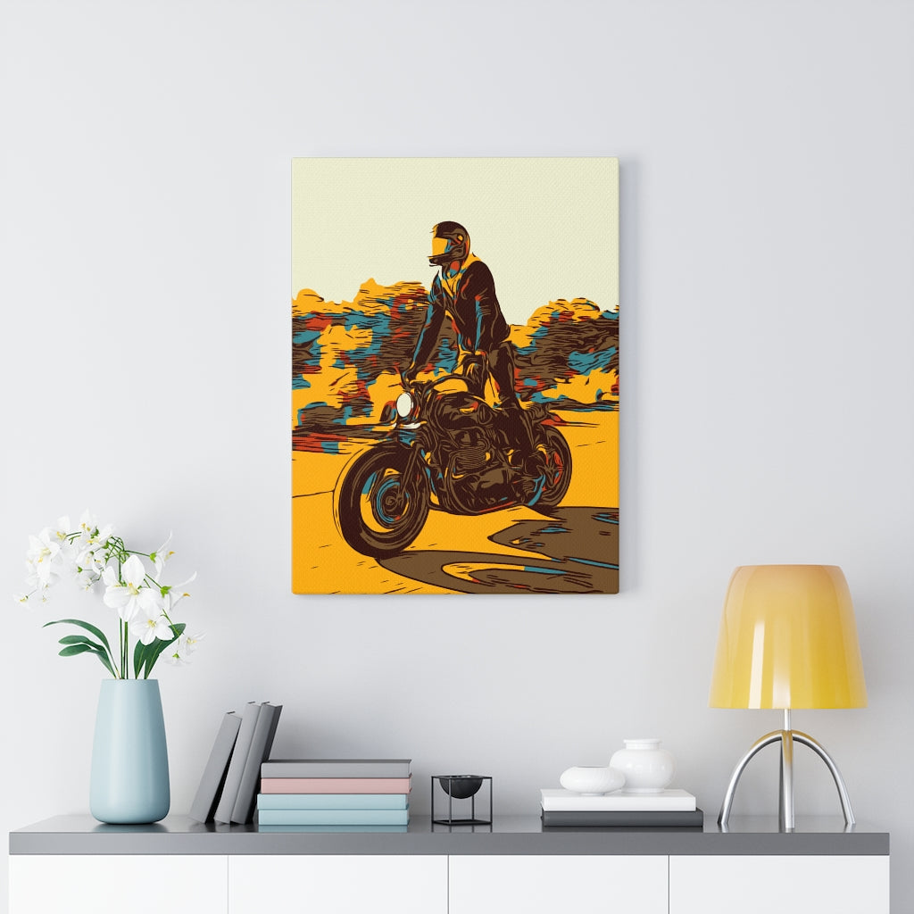 Ride Tall Canvas