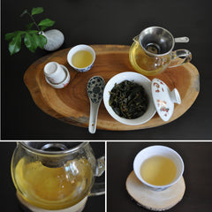 Golden Oolong Tea Tasting