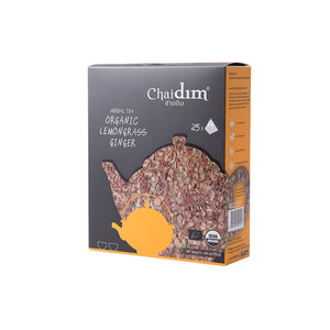 Chaidim Organic Lemongrass Ginger Herbal Tea