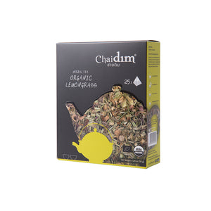 Chaidim Organic Pure Lemongrass Herbal Tea