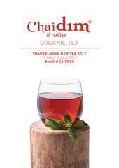 Chaidim Organic Tea at Thaifex World of Tea June 2017 Bangkok