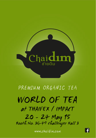 Chaidim World of Tea 2015 Thaifex