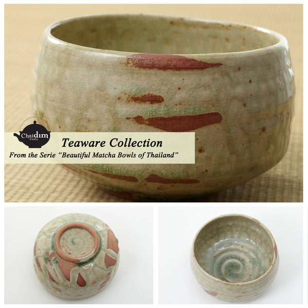Matcha Raku | Matcha Bowl for Japanese Tea Ceremony | Chaidim Teaware