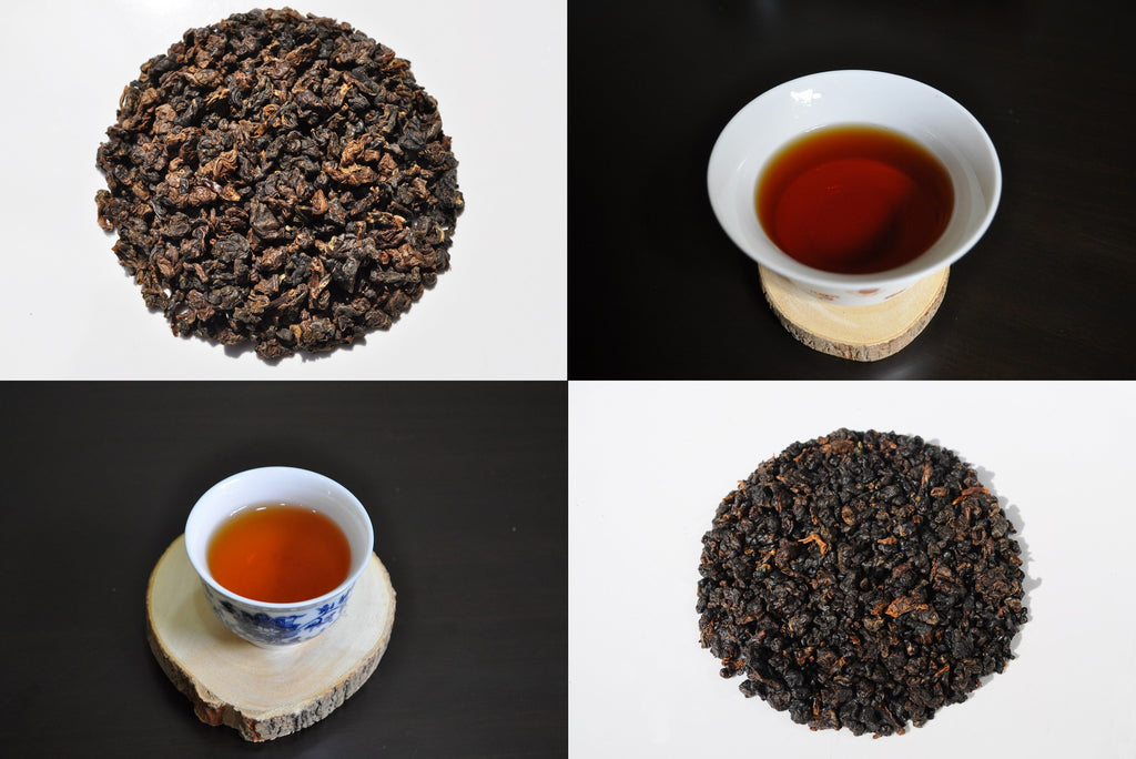 Comparing Red Oolong Teas from Thailand, Red Dragon and Ruby Oolong