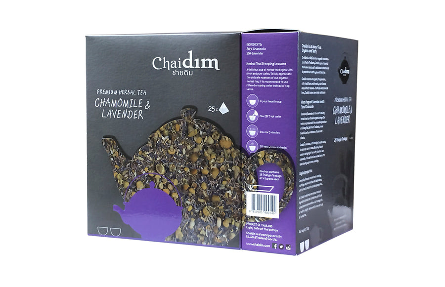 Chaidim Organic Chamomile Lavender Herbal Tea