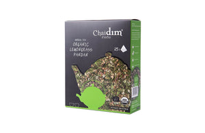 Chaidim Organic Lemongrass Pandan Herbal Tea