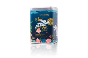 Chaidim Organic Tea Blue Rabbit Herbal Tea - Lemongrass Pandan Butterfly Pea