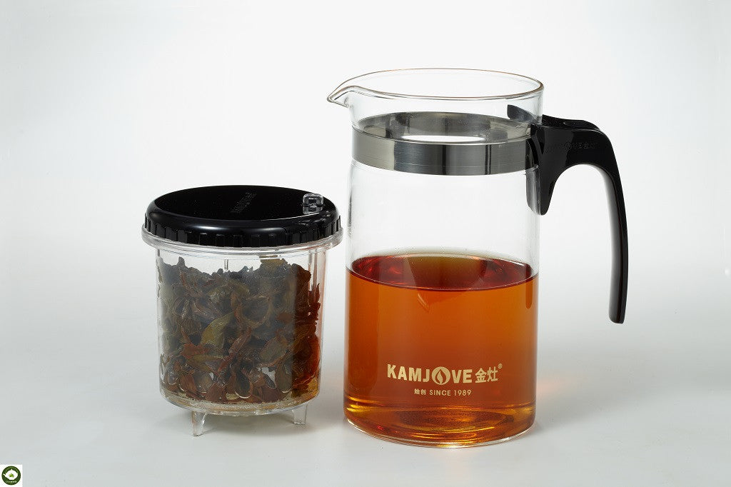 KAMJOVE Glass Tea Pot - Chaidim Teaware