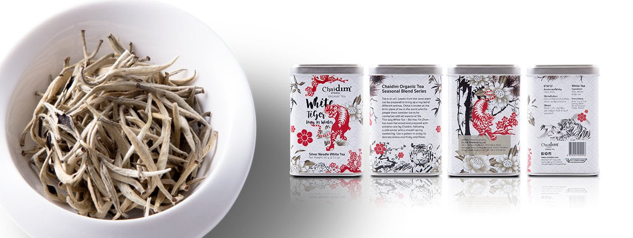 Chaidim Organic Tea - White Tiger Lazy in Winter - White Tea Silver Needle