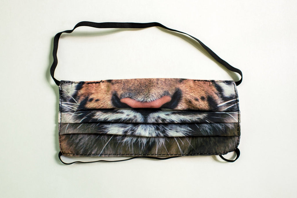 Pleated Tiger Realistic - Maskcott