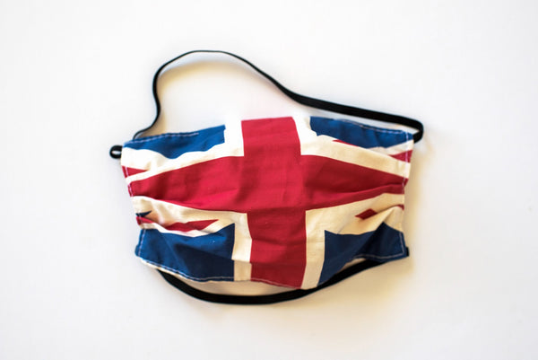 Pleated United Kingdom Flag - Maskcott