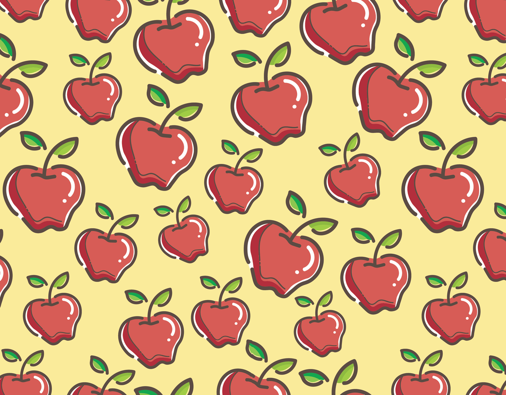Pleated Apple Pattern - Maskcott