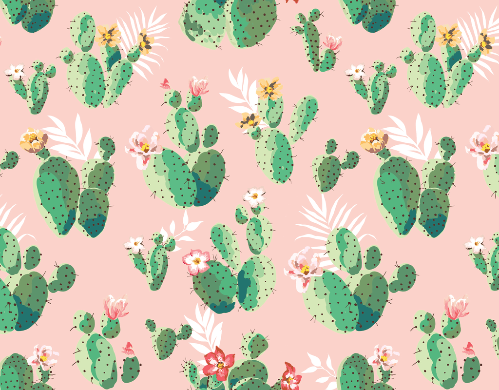Pleated Cactus Pattern - Maskcott