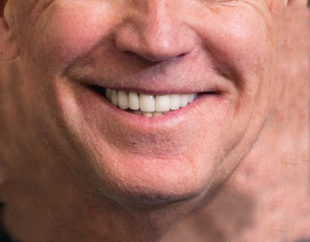 Pleated Joe Biden - Maskcott
