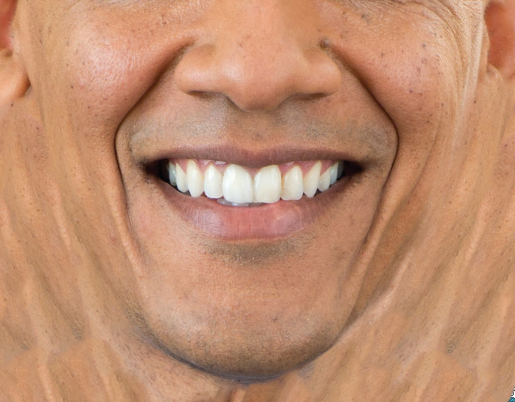 Pleated Barack Obama - Maskcott