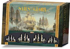 Review of Sails of Glory Game 1/1/16 (starter set)