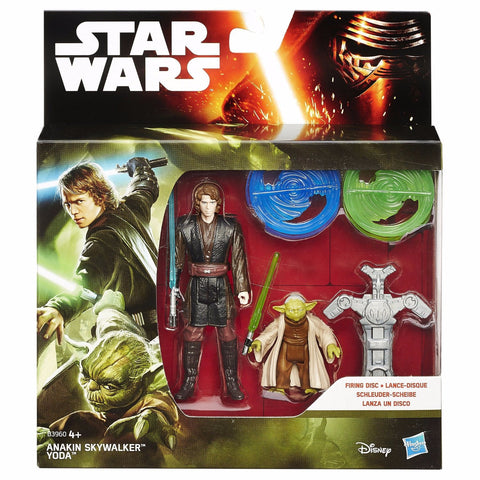 Star Wars Revenge Of The Sith Double Pack: Anakin Skywalker & Yoda by Hasbro