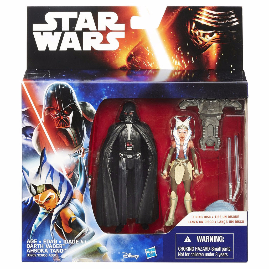 Star Wars Rebels Double Pack: Darth Vader & Ahsoka Tano Space Mission by Hasbro
