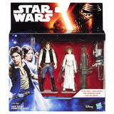 Star Wars: A New Hope Double Pack Han Solo & Princess Leia by Hasbro