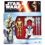 Star Wars The Force Awakens Double Pack: R2-D2 & C-3PO by Hasbro