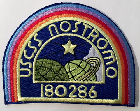 Alien USCSS Nostromo Logo Iron-On Patch