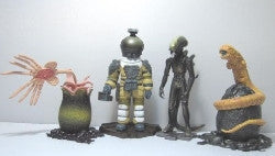 H R Giger Alien Figure Set