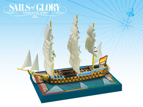 Argonauta 1806 Spanish Ship of the Line - Sails of Glory Expansion Pack by Ares Games