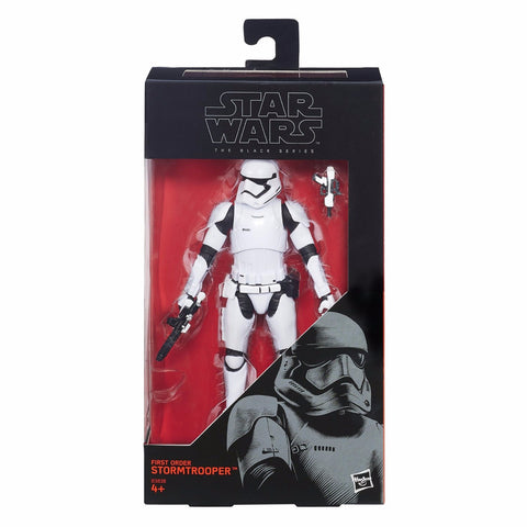 Star Wars The Black Series 6 Inch First Order Stormtrooper
