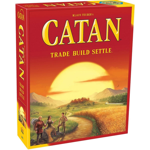 Catan (aka The Settlers of Catan) 2015 Refresh Edition - Core Game