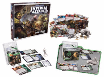 Star Wars Imperial Assault Jabba's Realm Campaign Pack - with FREE Boba Fett and FREE Jabba The Hutt