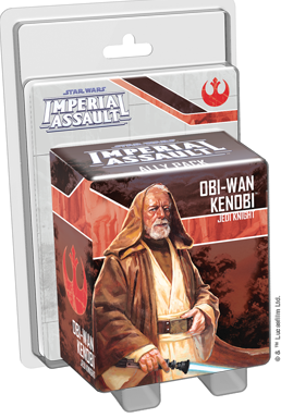 Star Wars Imperial Assault Obi-Wan Kenobi Ally Pack