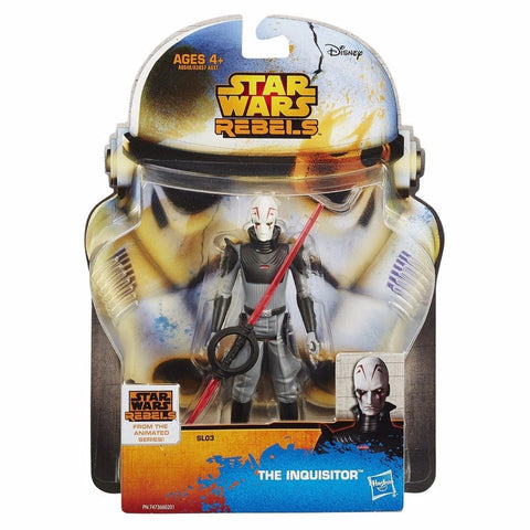 "Star Wars Rebels Saga Legends 3 3/4"" The Inquisitor SL03"