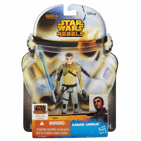 "Star Wars Rebels Saga Legends 3 3/4"" Kanan Jarrus SL04"