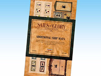 Sails of Glory Additional Ship Mats Pack by Ares Games