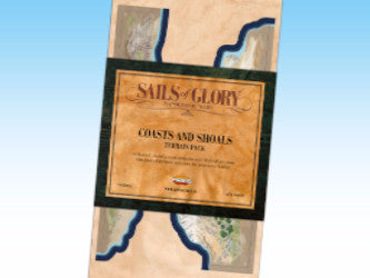 Sails of Glory Coasts and Shoals Terrain pack