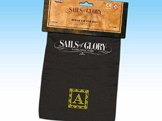 Sails of Glory Damage Counter Bags by Ares Games