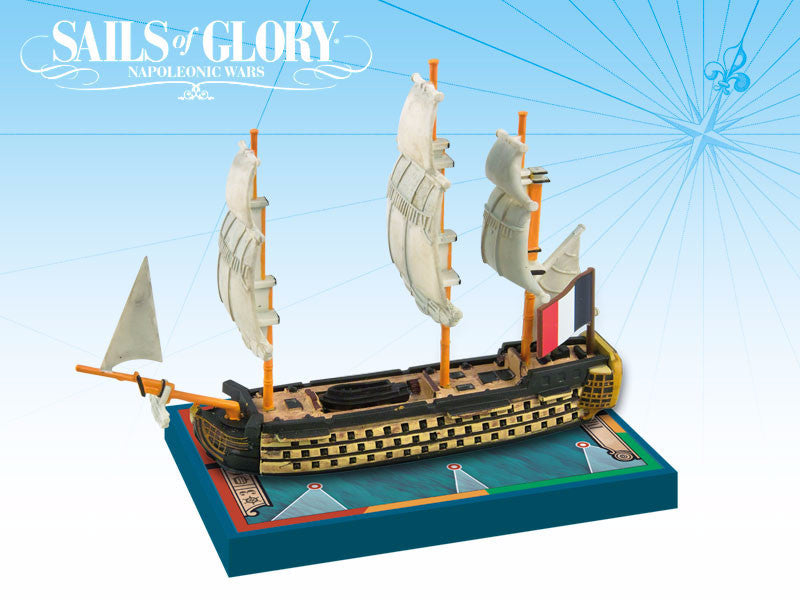 Imperial 1803 / Republique Francaise 1802 - Sails of Glory Expansion Pack by Ares Games