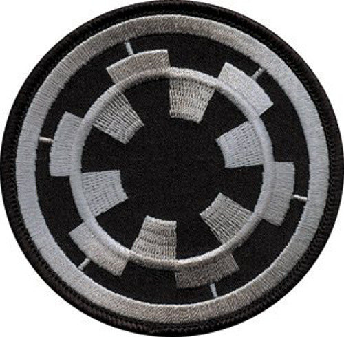 Star Wars Imperial Logo Iron-On Patch