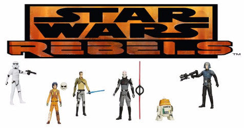 Star Wars Rebels Figures Set of 6