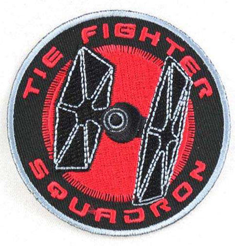 Star Wars TIE Fighter Squadron Logo Iron-On Patch